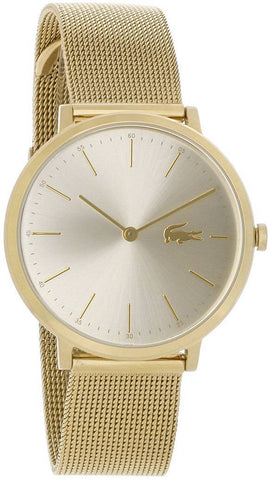 LACOSTE: Women's watch Moon 2001000 in gold - www.choubrand.com