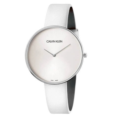 The Full Moon K8Y231L6 women's watch by Calvin Klein is a modern and unique design that in its simplicity shines and will make you shine. Perfect with any style and outfit. - ChouBrand