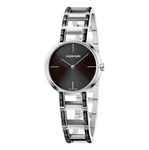 Get the uniqueness in design that only Calvin Klein can give you with the incredible Cheers K8NX3UB1 for women. The classy and timeless design of this watch and its design with the combination of silver and black makes it the perfect watch for you. - www.choubrand.com