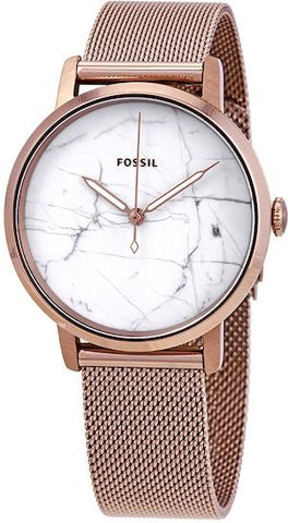 FOSSIL: Neely ES4404 women's watch with a marble-style dial - www.choubrand.com