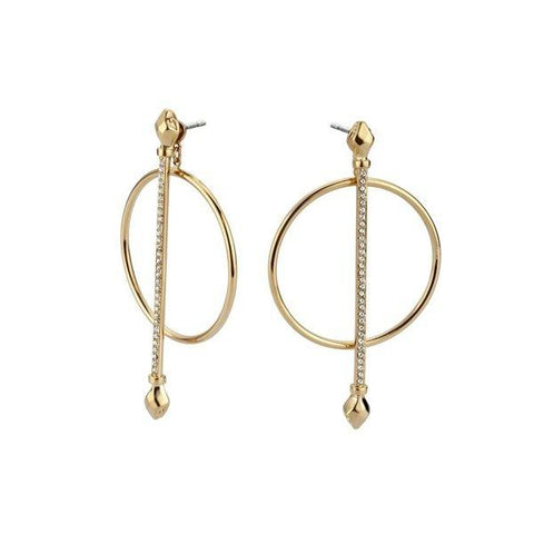 JUST CAVALLI: Gold earrings JCER00410200 - www.choubrand.com