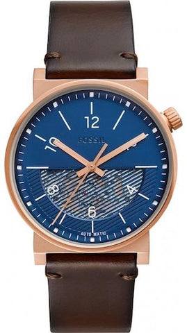 FOSSIL: ME3169 men's watch with blue dial - www.choubrand.com