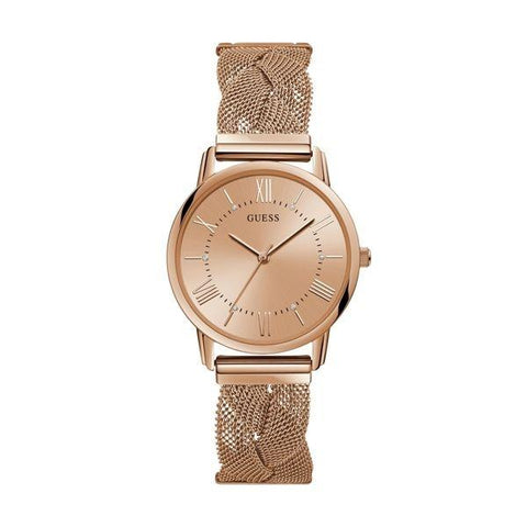 GUESS: Rose gold women's watch W1143L3 - www.choubrand.com