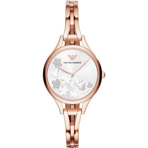 EMPORIO ARMANI: Women's watch AR11108 in rose gold - www.choubrand.com