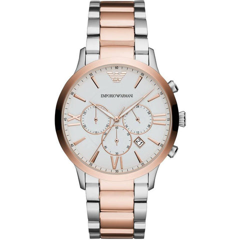 The Giovanni AR11209 men's watch by Emporio Armani with its unique look and style represents the brand perfectly. Classy and timeless to last you a lifetime. - ChouBrand