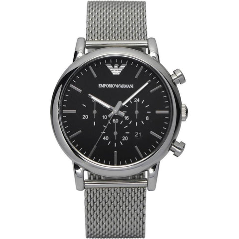 The Classic AR1811 men's watch by Emporio Armani is a timeless piece perfect for all the men of today who want all the style on a watch to go with any outfit. - ChouBrand