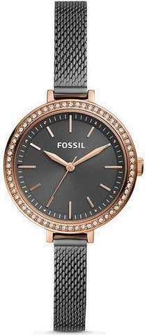 FOSSIL: Women's watch BQ3458 in rose gold/black - www.choubrand.com