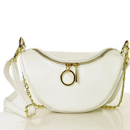 MAZZINI: Crescent-shaped crossbody bag - www.choubrand.com