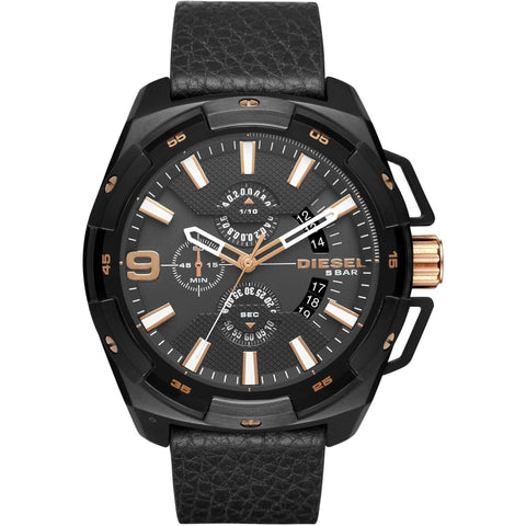 DIESEL: Men's watch Heavyweight DZ4419 in black - www.choubrand.com