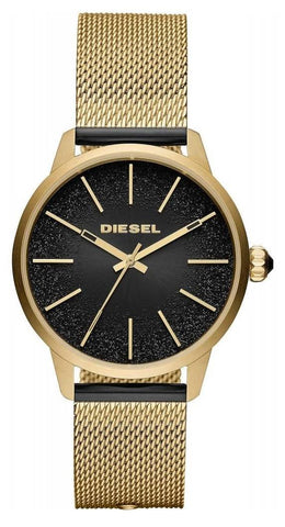 Shop now the women's watch Castilla DZ5576 in gold by DIESEL