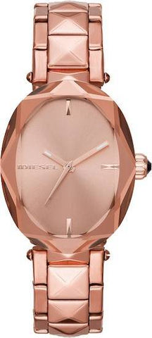 DIESEL: Women's watch Julez DZ5580 in rose gold - www.choubrand.com