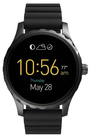 FOSSIL: Men's Smartwatch Marshal Gen 2 FTW2107 in black - www.choubrand.com