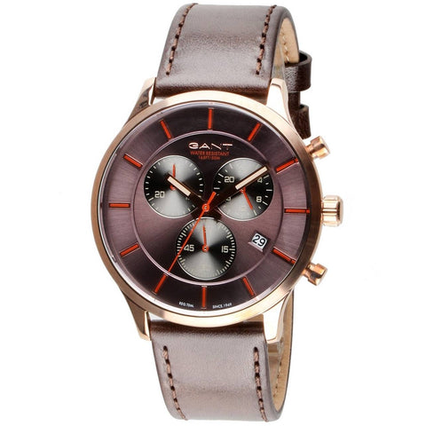 The stylish GTAD00201299I men's watch by GANT is a beautiful and very elegant brown watch perfect for all the men out there searching for that timeless piece to add that classy touch to all your outfits. - ChouBrand
