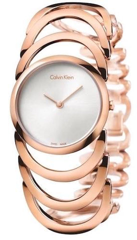 CALVIN KLEIN: Body K4G23626 women's watch in rose gold - www.choubrand.com