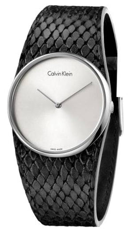 CALVIN KLEIN: Women's watch Spellbound K5V231C6 in black/silver - www.choubrand.com