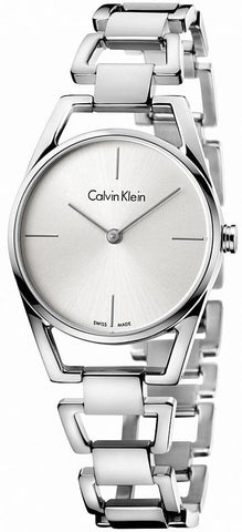 The Dainty K7L23146 women's watch by Calvin Klein is an eye-catching yet very elegant and stylish watch for all the modern women out there who want to shine with unique accessories.