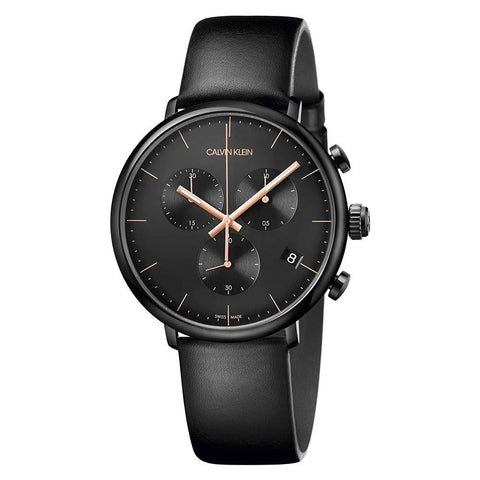 100% authentic | ChouBrand: What the contemporary elegance that this High Noon K8M274CB men's watch by Calvin Klein offers it will not be found in any other watch.