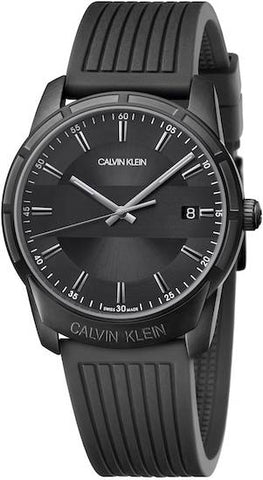 CALVIN KLEIN: Men's watch Evidence K8R114D1 in black - www.choubrand.com