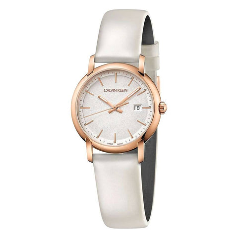 The Established K9H236L6 women's watch by Calvin Klein in a perfectly balanced mix of silver and rose gold, make this watch a sure bet of elegancy. The perfect accessory to give that extra wow effect to all your outfits and looks. - www.choubrand.com