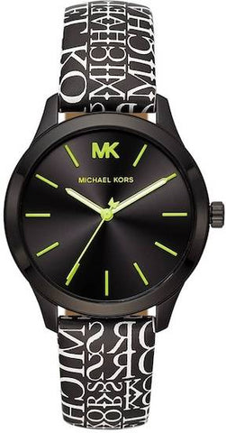 MICHAEL KORS: Women's watch Runway MK2847 in black - www.choubrand.com