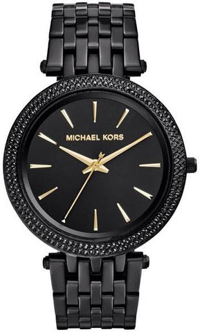 MICHAEL KORS: Women's watch MK3337 in black - www.choubrand.com