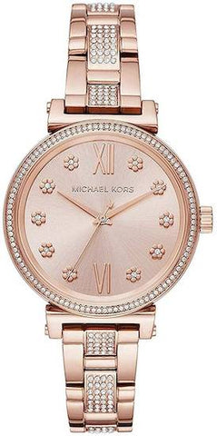 MICHAEL KORS: Women's watch Sofie MK3882 in rose gold - www.choubrand.com