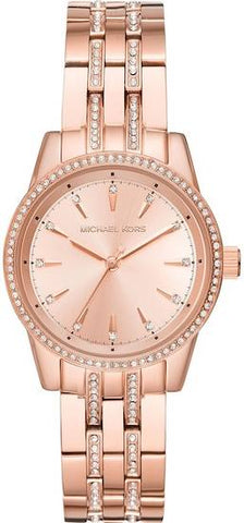 MICHAEL KORS: Women's watch Ritz MK3910 in rose gold - www.choubrand.com