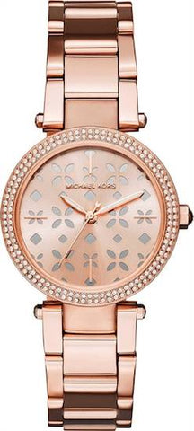MICHAEL KORS: Women's watch Mini Parker MK6470 in rose gold - www.choubrand.com