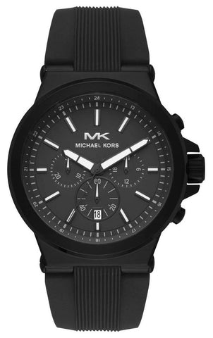 MICHAEL KORS: Men's watch Dylan MK8729 in all black - www.choubrand.com