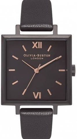 OLIVIA BURTON: Women's watch OB16SS14 in all black and rose gold details - www.choubrand.com