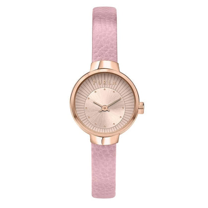 FURLA: Women's watch Sleek R4251137501 in rose gold/pink - www.choubrand.com