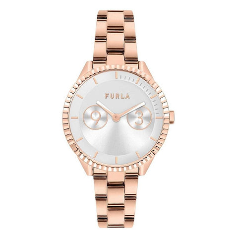 FURLA: Women's watch Metropolis R4253102549 in rose gold - www.choubrand.com