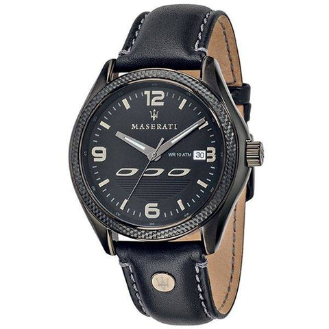 MASERTI: Men's watch Sorpasso R8851124001 in black - www.choubrand.com