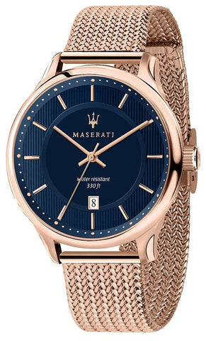 The incredible and elegant design of the Maserati Gentleman R8853136003 men's watch makes this watch shine with its own light. You will fall in love from the start with its fine and classy design to give your outfits that touch of class and luxury so typical of Maserati. - ChouBrand