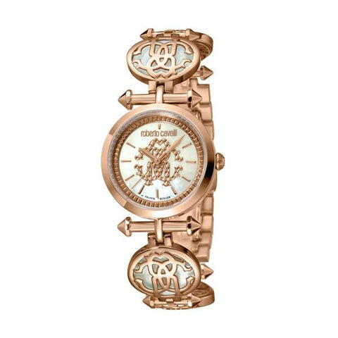 ROBERTO CAVALLI BY FRANCK MULLER: Women's watch RV1L091M0061 in rose gold - www.choubrand.com
