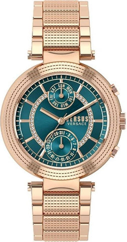 VERSUS VERSACE: Women's watch Star Ferry S79080017 in rose gold and green - www.choubrand.com