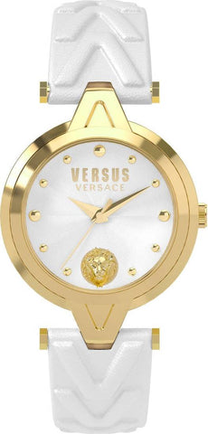 VERSUS VERSACE: Women's watch V SCI210017 in white and gold - www.choubrand.com
