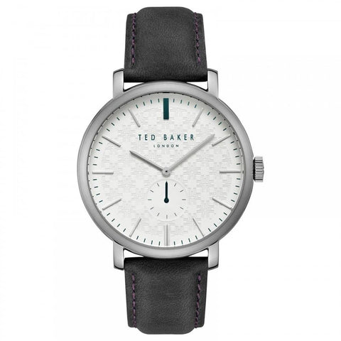 TED BAKER: Men's watch Trent TE15193007 in black/white - www.choubrand.com