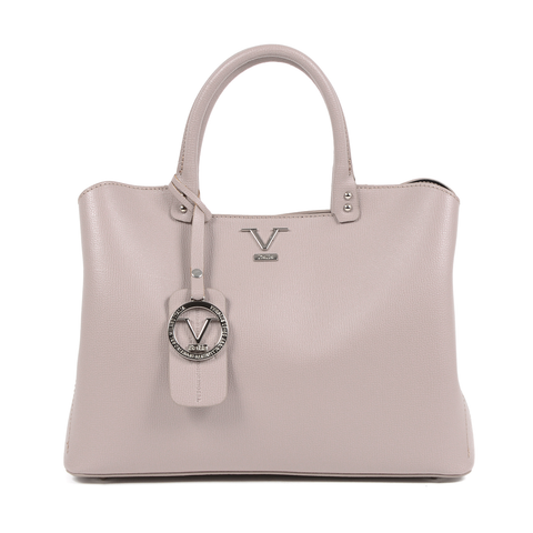 This pink TATIANA handbag by V 1969 ITALIA is a classy and elegant bag that will go perfectly with any outfit and style. A must have in your wardrobe! - ChouBrand
