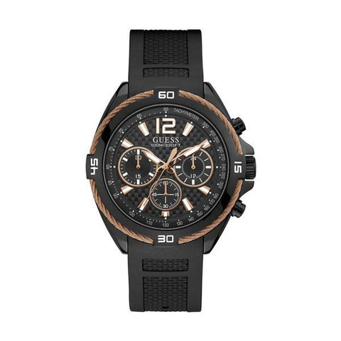 GUESS: Men's watch W1168G3 in all black - www.choubrand.com