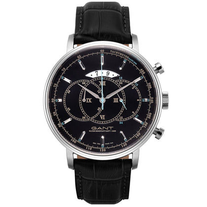 Men's watch Cameron WAD1090599I by GANT in black and silver - www.choubrand.com