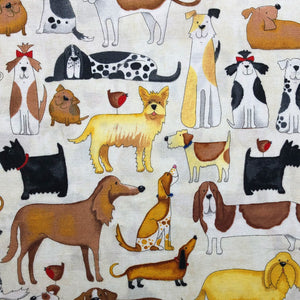 Face Mask - Dog Print