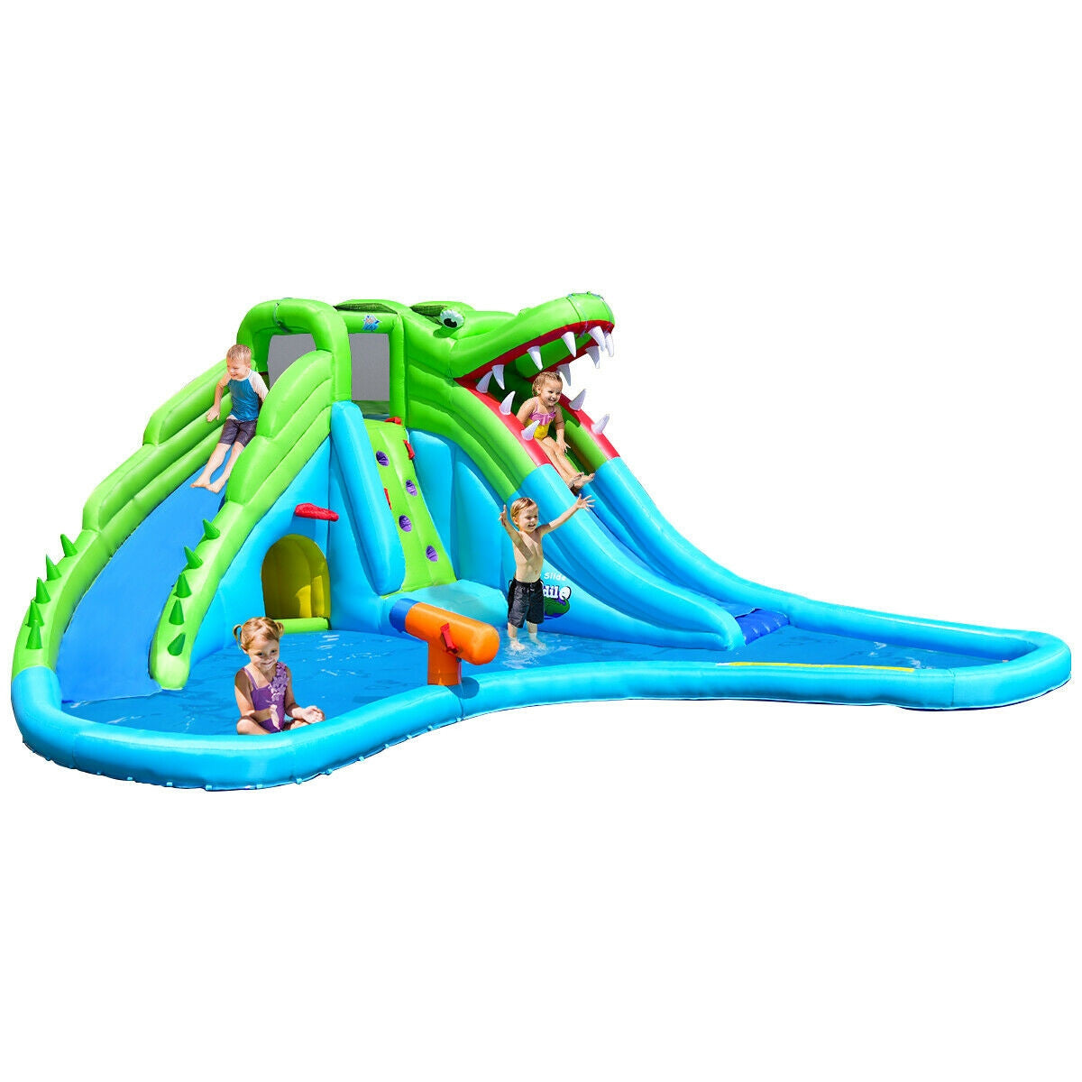 Summertime Staples™ Inflatable Slide with Pool for Kids Bounce House