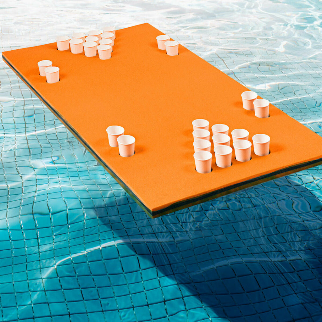 Summertime Staples™ Floating Beer Pong Pool Pong Float