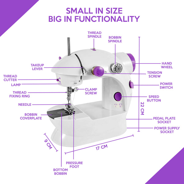 DIYMaster™ Mini Handheld Portable Sewing Machine for DIY, Beginners, and Kids