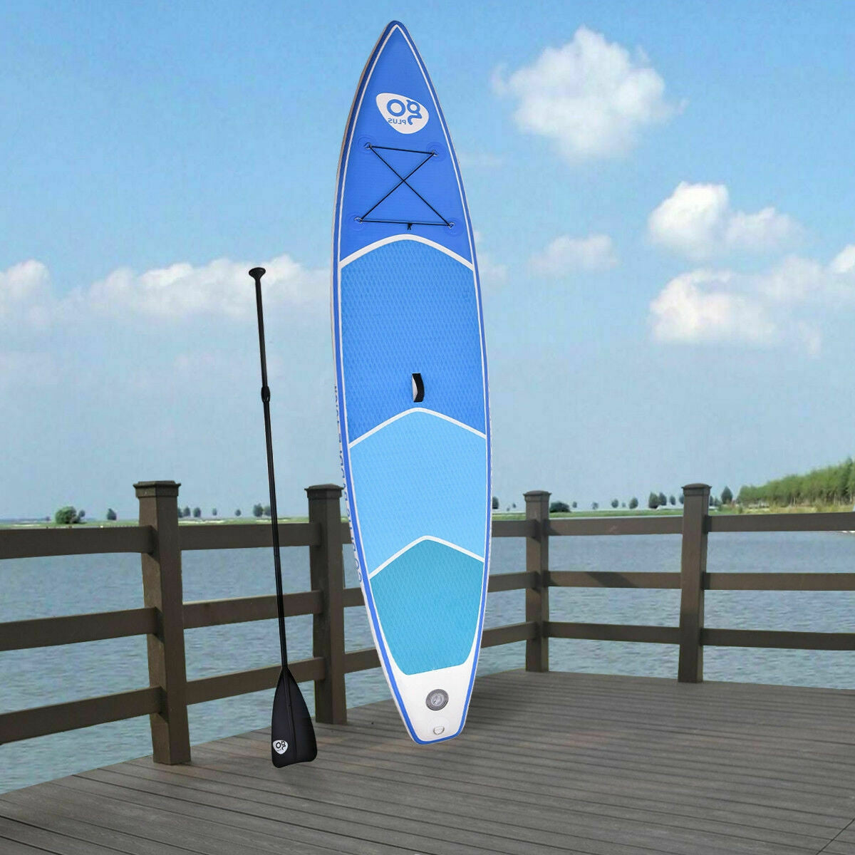 Goplus Inflatable Paddle Board Blowup Standup SUP