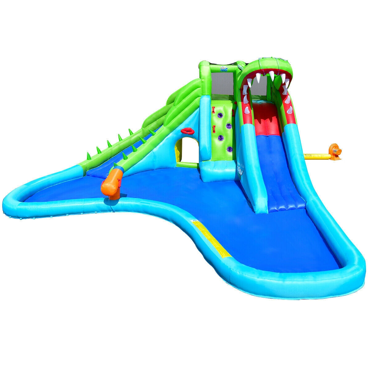 Inflatable Slide with Pool for Kids Bounce House blower included