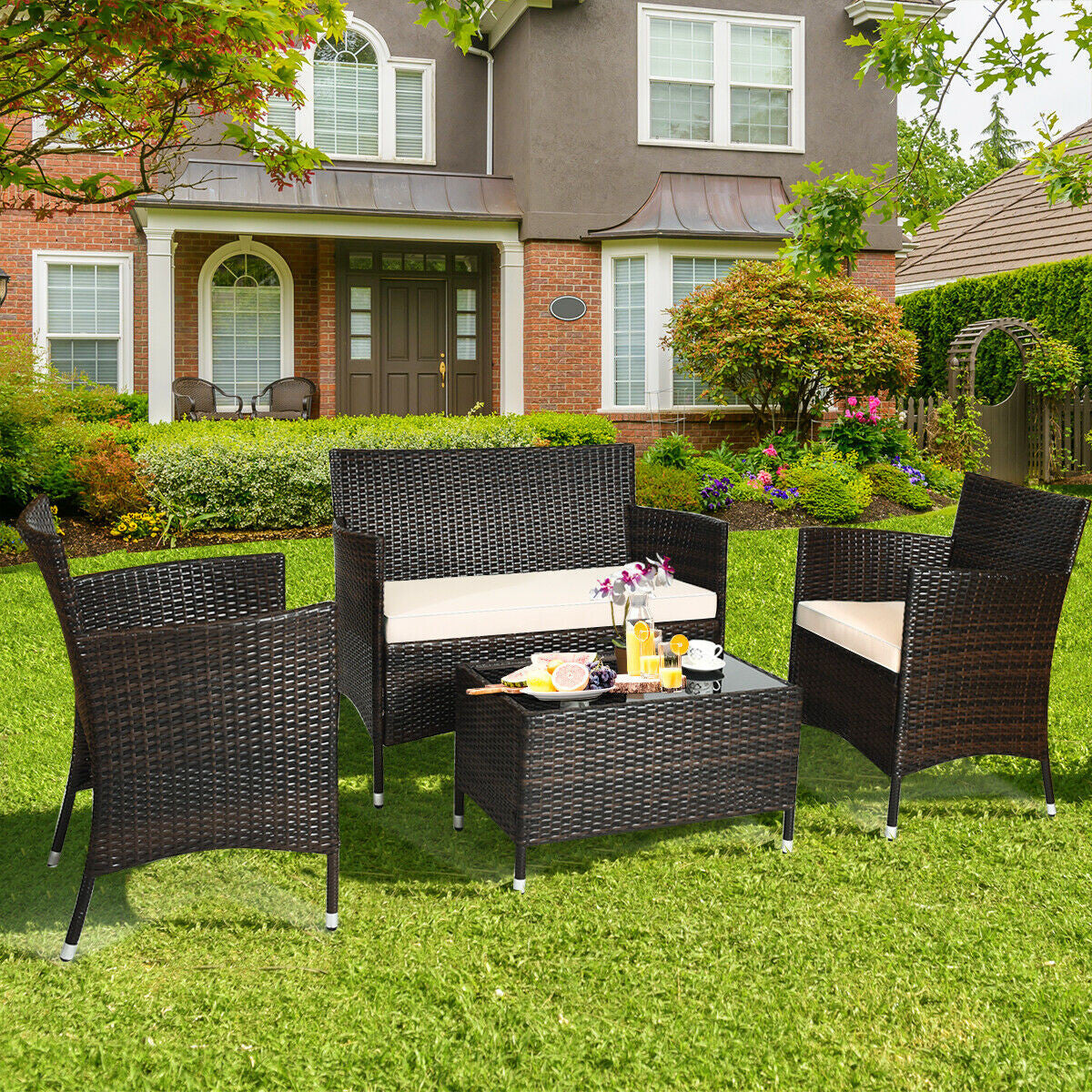 patio furniture backyard