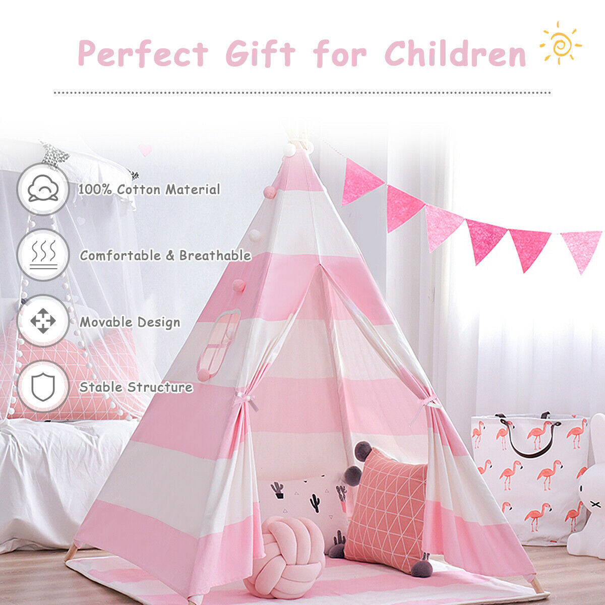 safe sturdy tent for kids play tent for children indoor outdoor
