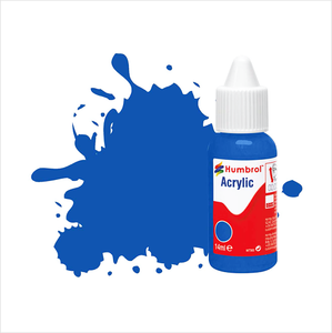 Humbrol acrylic paint | GLOSS | No 14 French Blue